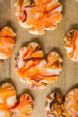 Easy Thanksgiving Shortbread Cookies