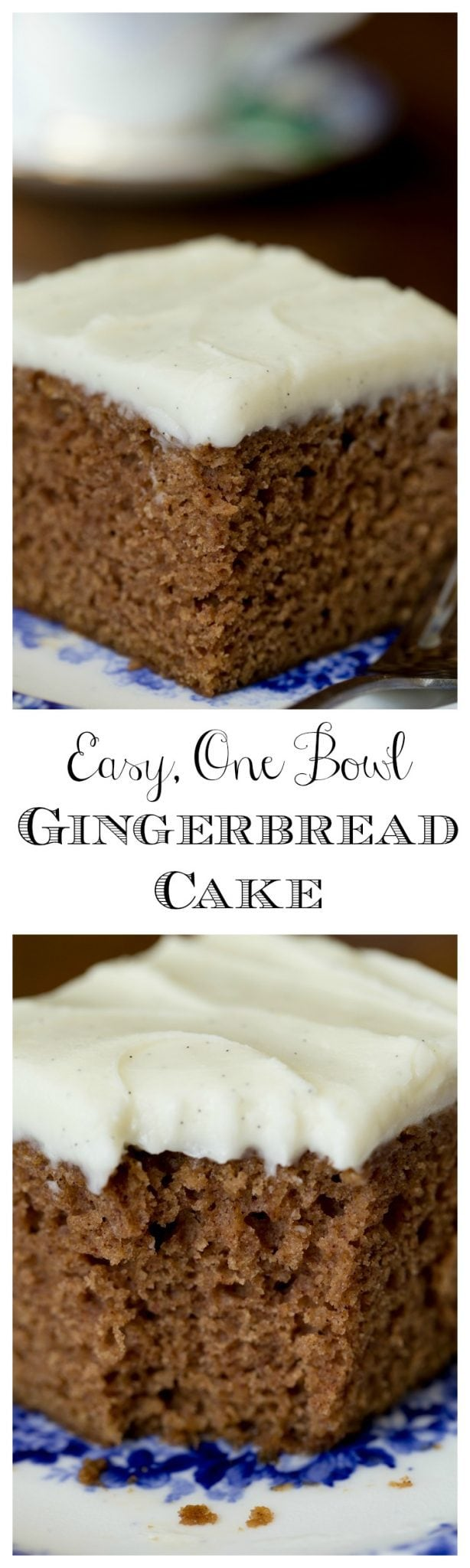 Easy, One Bowl Gingerbread Cake - this might just be the easiest, moistest, most delicious cake you've ever made!Easy, One Bowl Gingerbread Cake - this might just be the easiest, moistest, most delicious cake you've ever made!