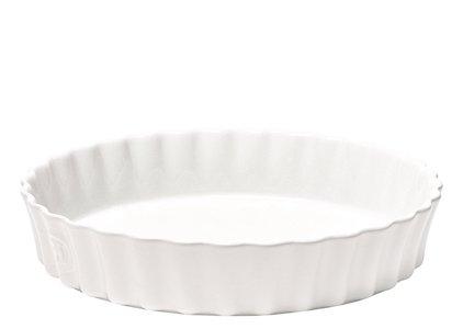 Emile Henry 11-inch White Quiche Dish