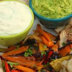 Grilled Chicken Fajitas - thecafesucrefarine.com