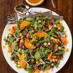 Fall Salad with Pumpkin Maple Vinaigrette