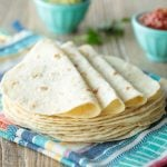 Best Ever Homemade Flour Tortillas - thecafesucrefarine.com