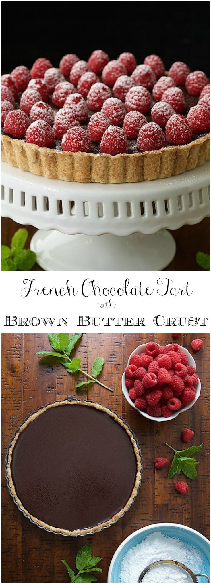 This tart is super simple, decadent, authentically French and probably the best chocolate dessert you
