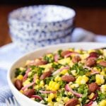 Fresh Corn Kale Salad