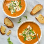 Easy Fresh Tomato Basil Soup