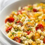 Roasted Tomato and Fresh Mozzarella Pasta