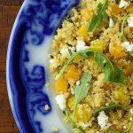 Golden Beet and Butternut Quinoa Salad
