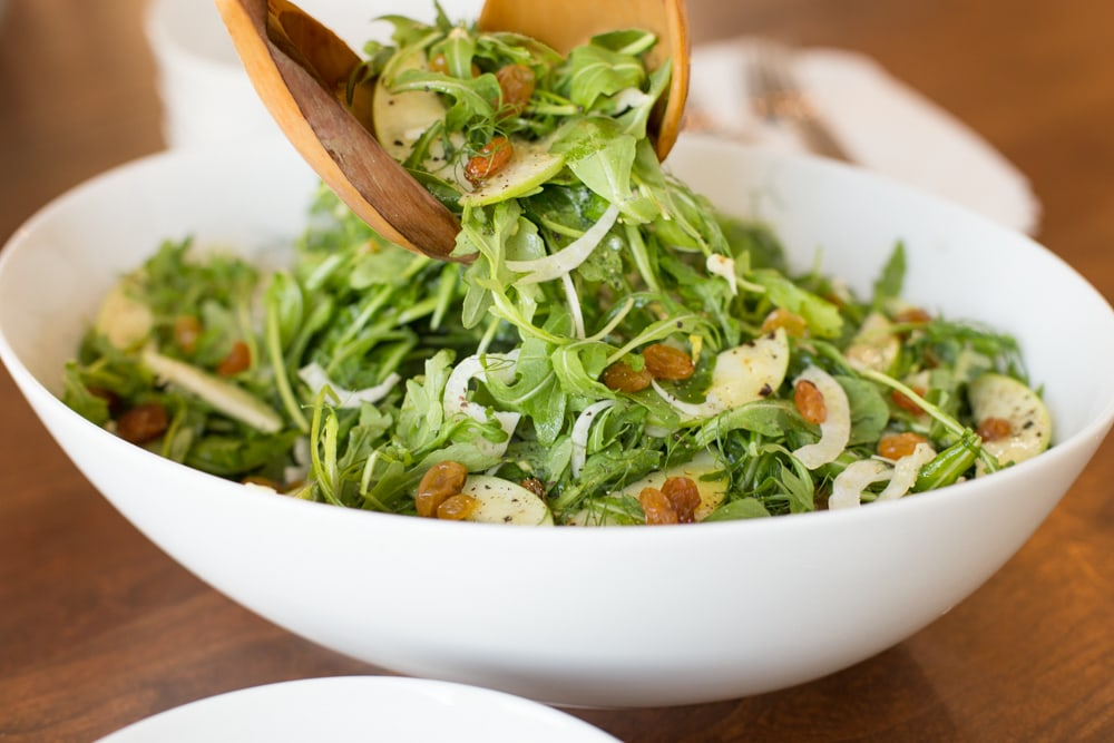 Smith and Fennel Arugula Salad, a beautiful, delicious, seasonal salad ...