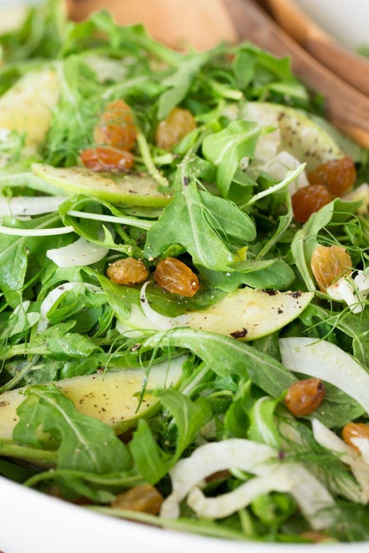 Granny Smith and Fennel Arugula Salad