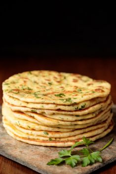 Greek Yogurt Turkish Flatbread (Bazlama)