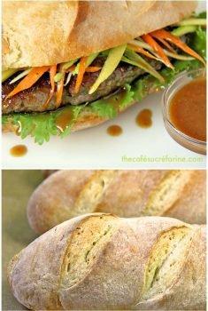 Grilled Bahn Mi - a delicious, fresh Vietnamese street food sandwich!