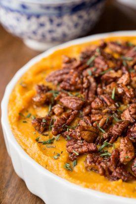 Healthy Butternut Sweet Potato Casserole