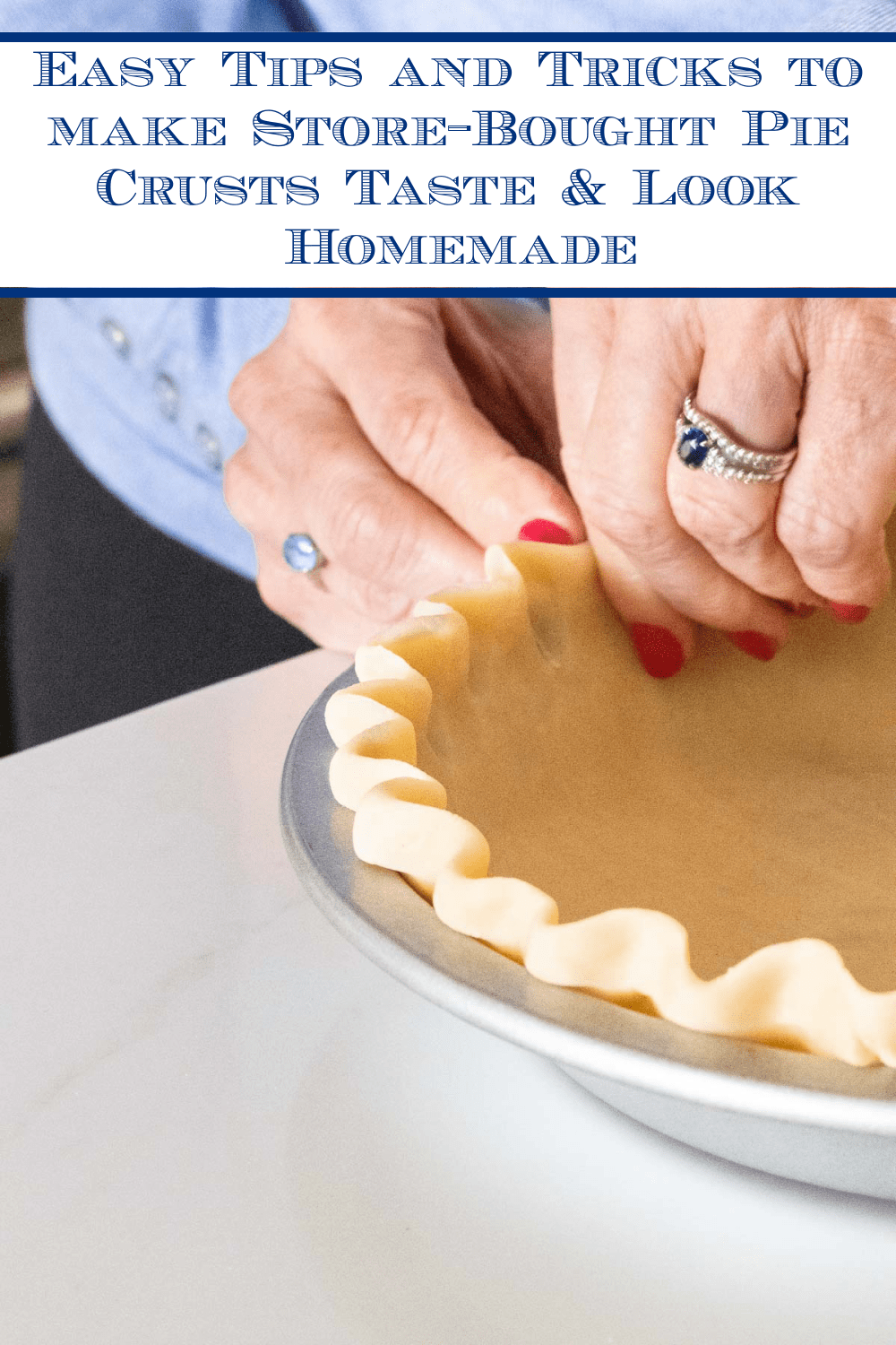 Homemade Store-Bought Pie Crusts