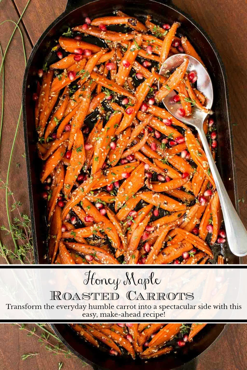 These carrots are like candy and transform the everyday humble carrot into something spectacular and super delicious! #roastedcarrots, #easyglazedcarrots