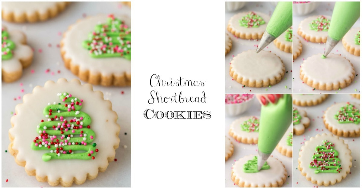 Shortbread Cookies Christmas.Christmas Shortbread Cookies The Cafe Sucre Farine