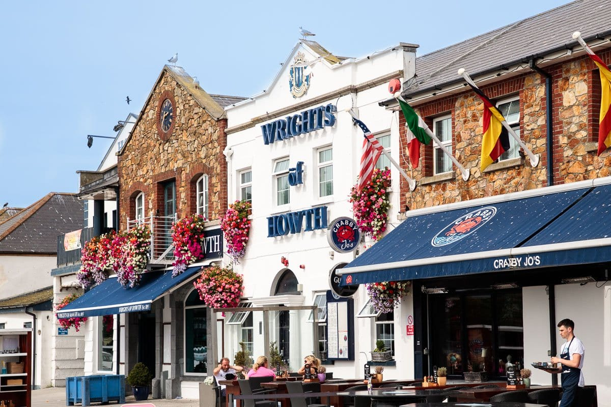 Photo of Wright's of Howth fish market and restaurant for the blog post: Ireland, Off the Beaten Path - Part 1.