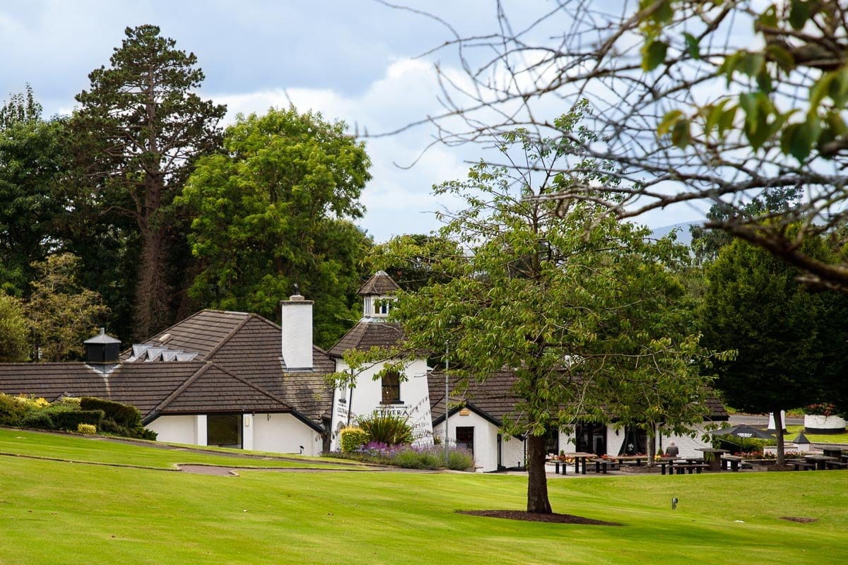 Photo of Cultra Inn Restaurant on the grounds of Culloden Estate in Holywood, Northern Ireland.
