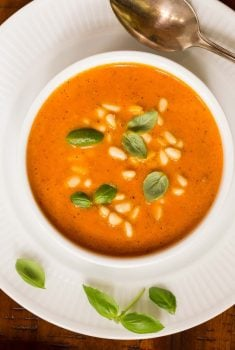 Italian Sun-Dried Tomato Soup