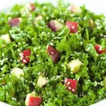 Kale and Apple Salad with Honey Ginger Dressing - healthy , fresh and utterly delicious? If you look those words up in the dictionary, you'd see a picture of this salad!
