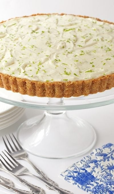 Key Lime Crunch Tart