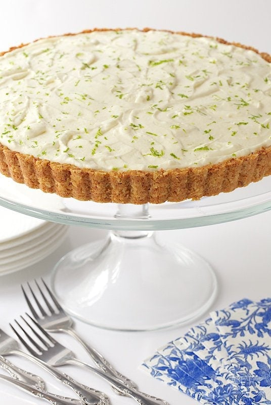 Café Key Lime Crunch Tart