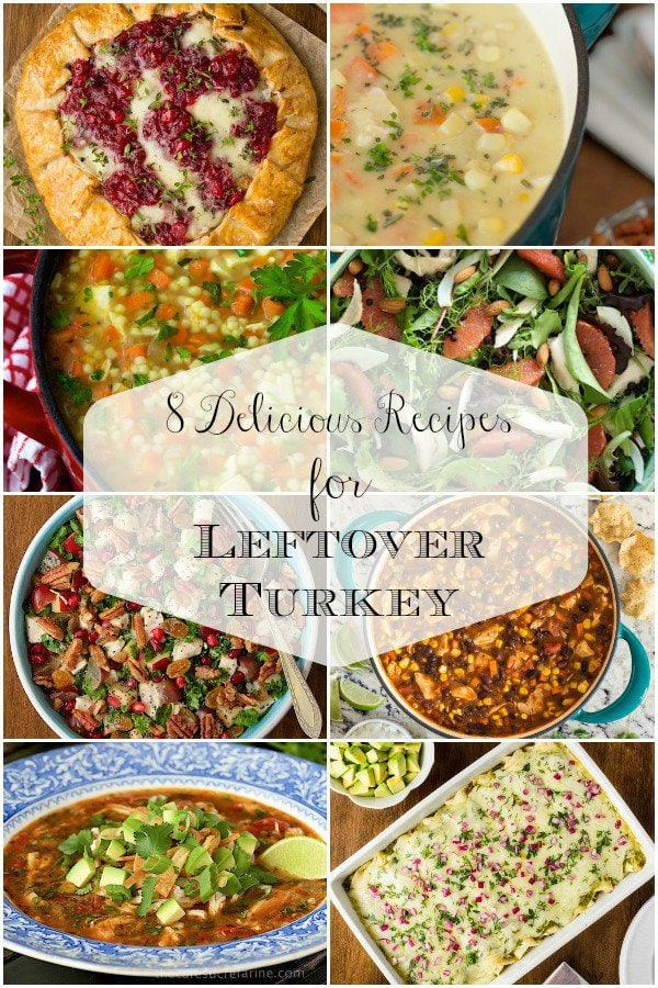From soups to salads, we\'ve got you covered with delicious ways to transform your leftover turkey! #leftoverturkey #turkeyrecipes