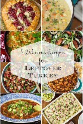 Leftover Turkey Collage