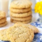 Lemon Coconut Sugar Cookies