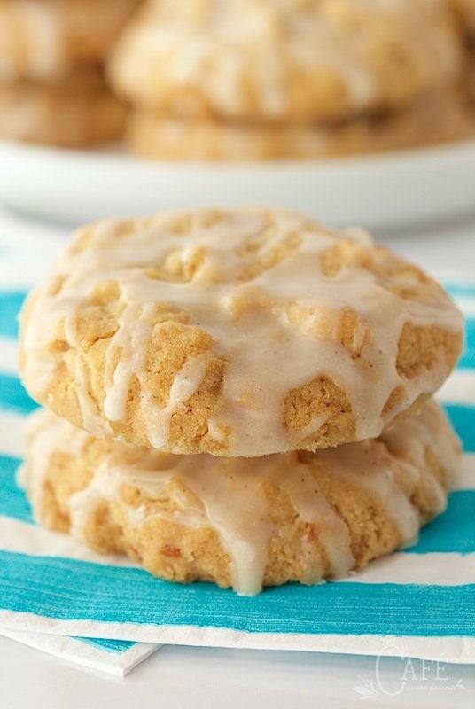 Lemon Vanilla Bean Coconut Crunch Cookies