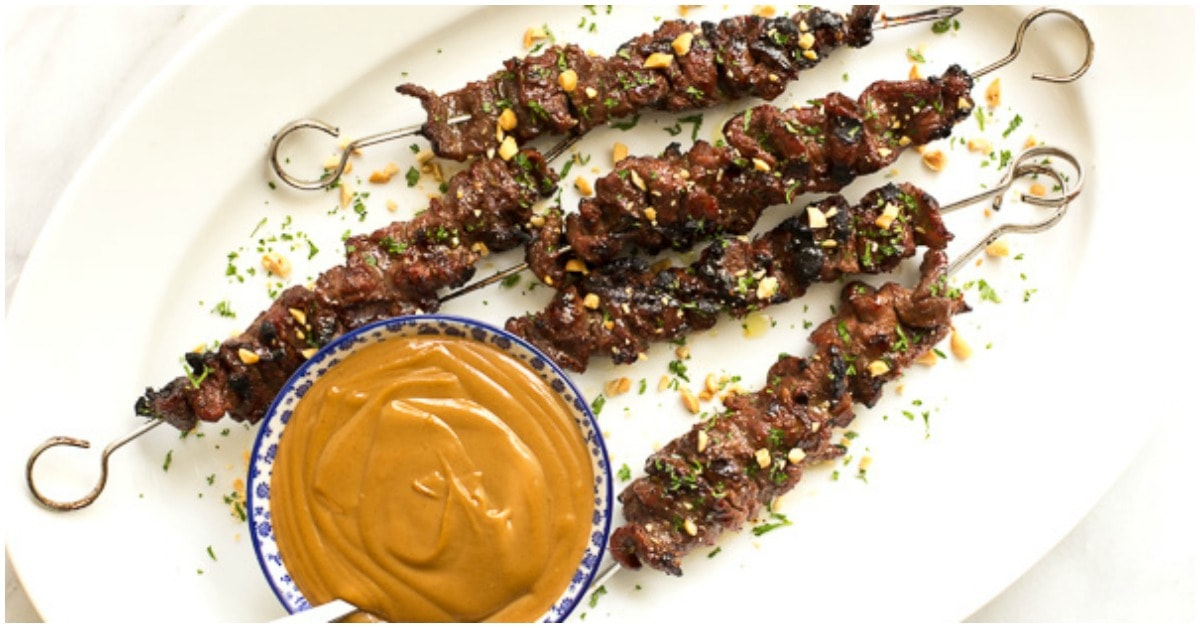 Grilled Lemongrass Beef Skewers   The Café Sucre Farine