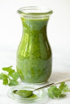 Lemongrass Cilantro Salad Dressing