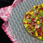 Mango and Pomegranate Guacamole
