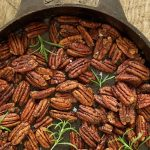 Maple and Rosemary Brown Butter Pecans