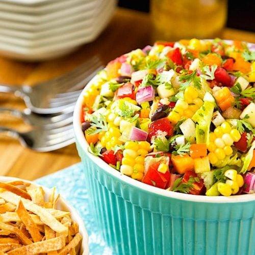 mexican chopped salad the café sucre farine