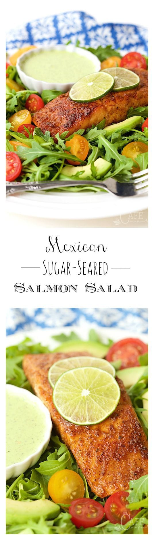 This is the easiest and by far the most delicious salmon salad we've ever had. It's super versatile too!