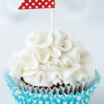 Moist Chocolate Cupcakes with Vanilla Bean Icing - they're not only moist but loaded with great chocolate flavor!