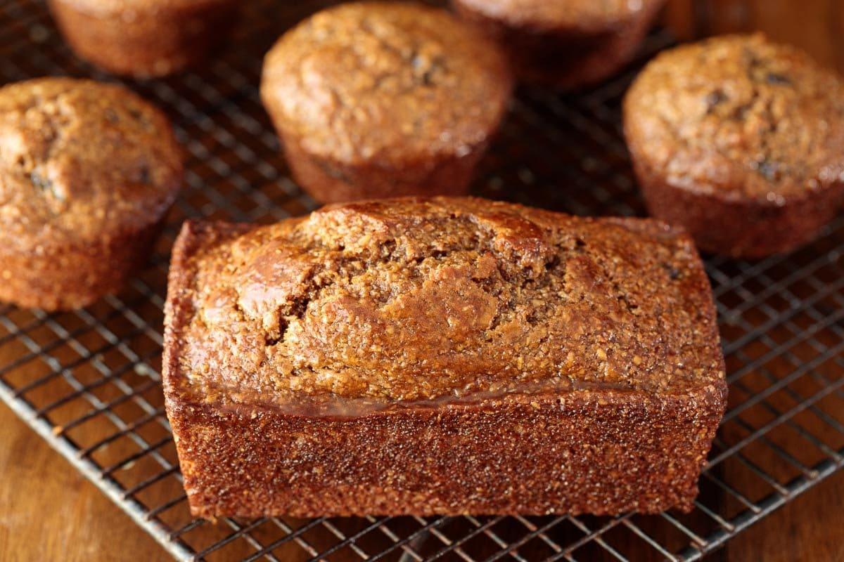 One Bowl Buttermilk Bran Muffins