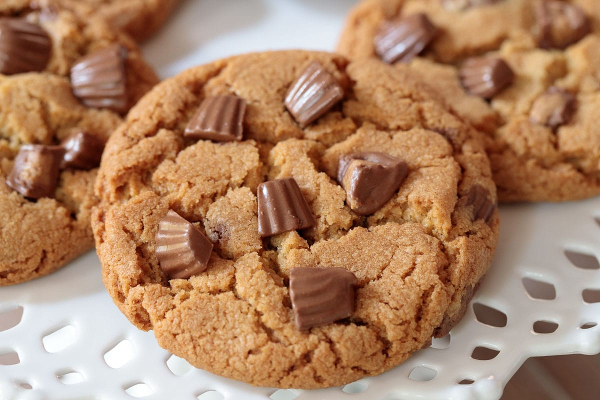 One-Bowl Reese's Peanut Butter Cookies