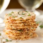 Parmesan Crisps with Thyme and Sea Salt - one of the most elegant (and easy!) Italian-inspired appetizers you'll ever have the pleasure of meeting. A delicious little bite to go with cocktails, on salads or as a soup topping.