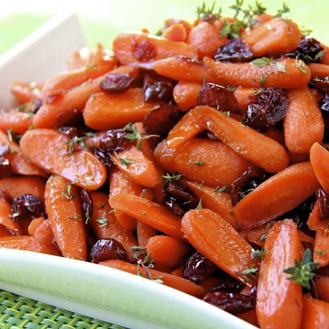 Perfect Glazed Carrots - There's not a speck of these ever left in the bowl!