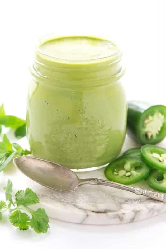 Peruvian Green Sauce