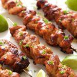 Peruvian Grilled Chicken Skewers