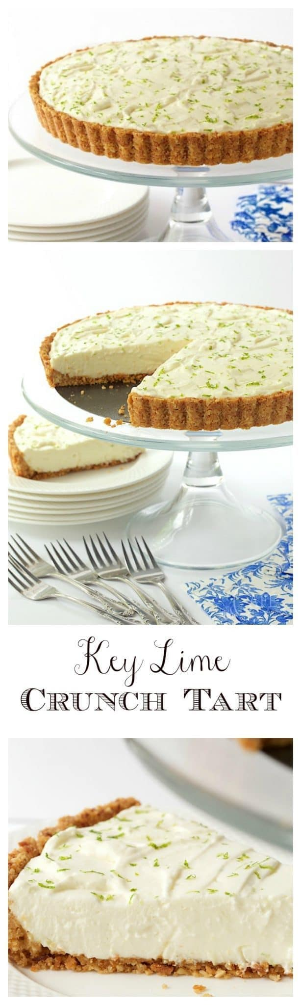 With a crunchy coconut-almond shortbread crust and a creamy, light, key lime filling, this easy, make-ahead dessert is ALWAYS a hit!
