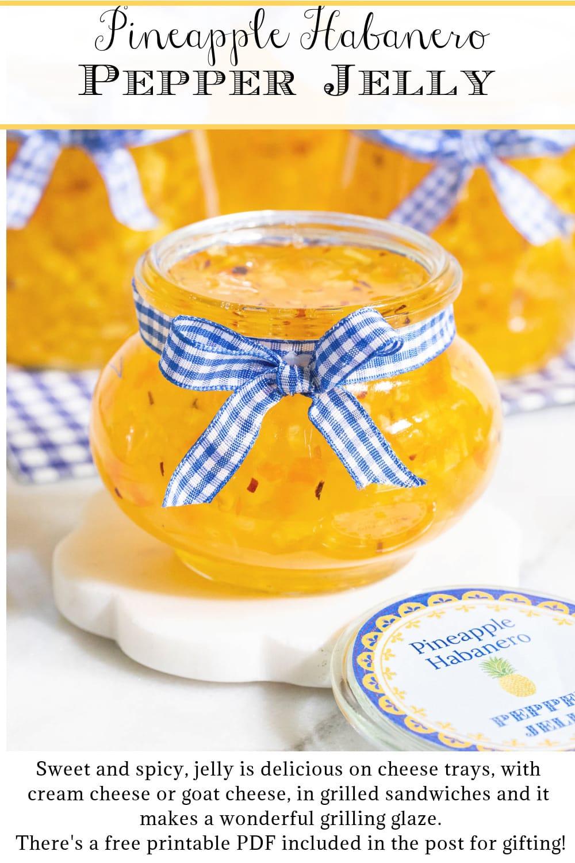 Pineapple Habanero Pepper Jelly