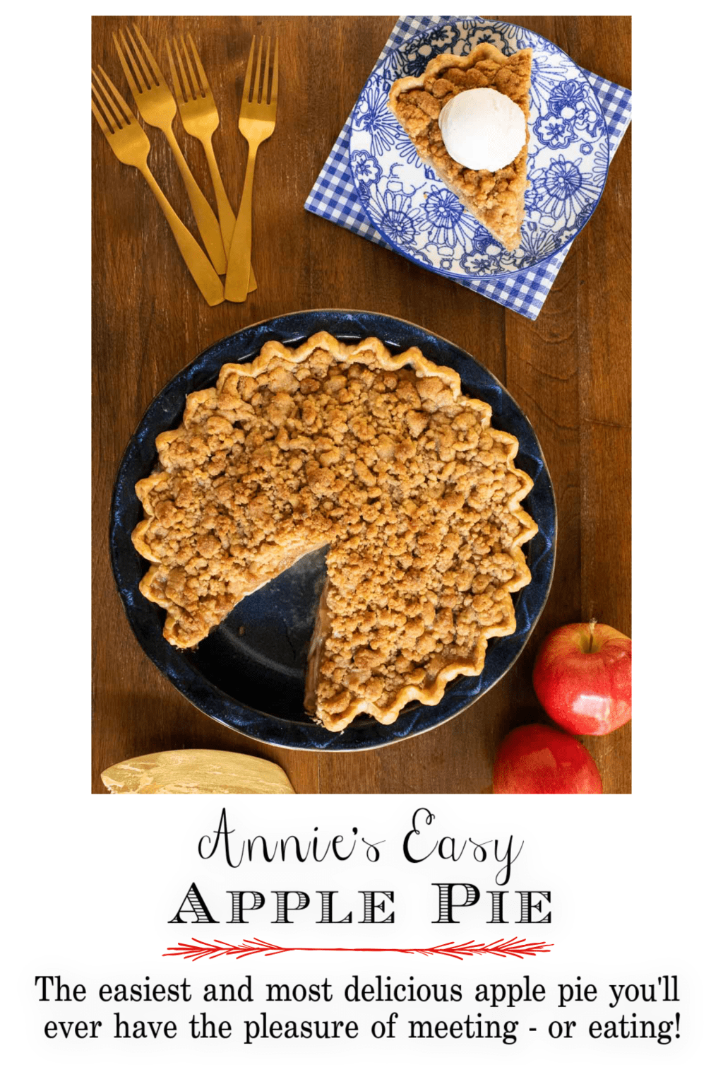 Annie\'s Easy Apple Pie