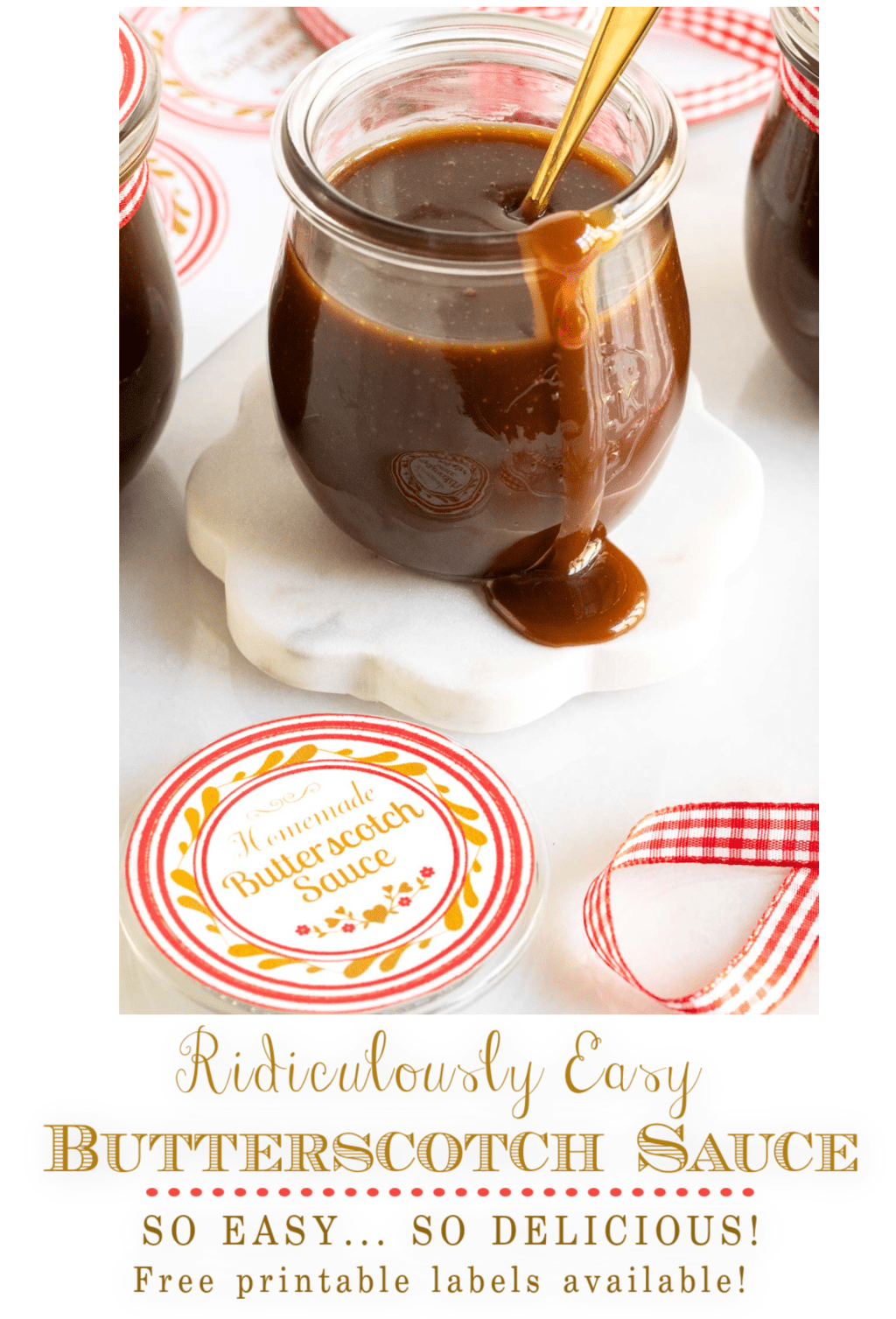 Ridiculously Easy Butterscotch Sauce