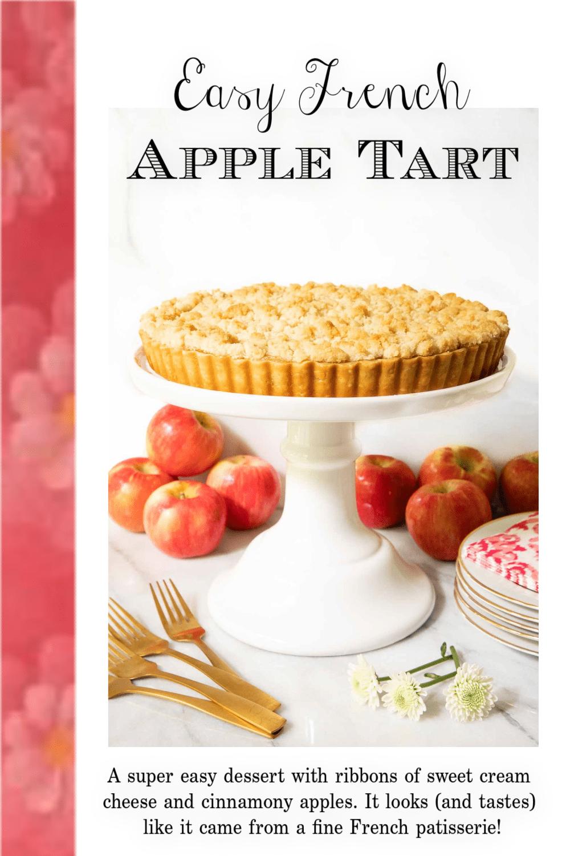 Easy French Apple Tart