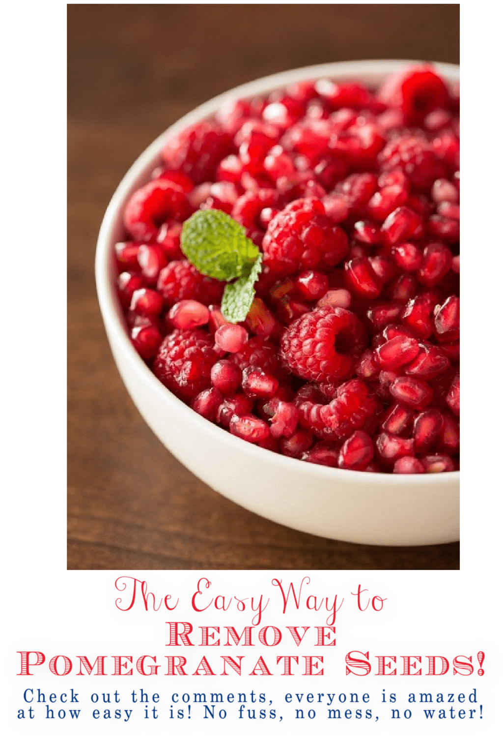 The Easy Way to Remove Pomegranate Seeds