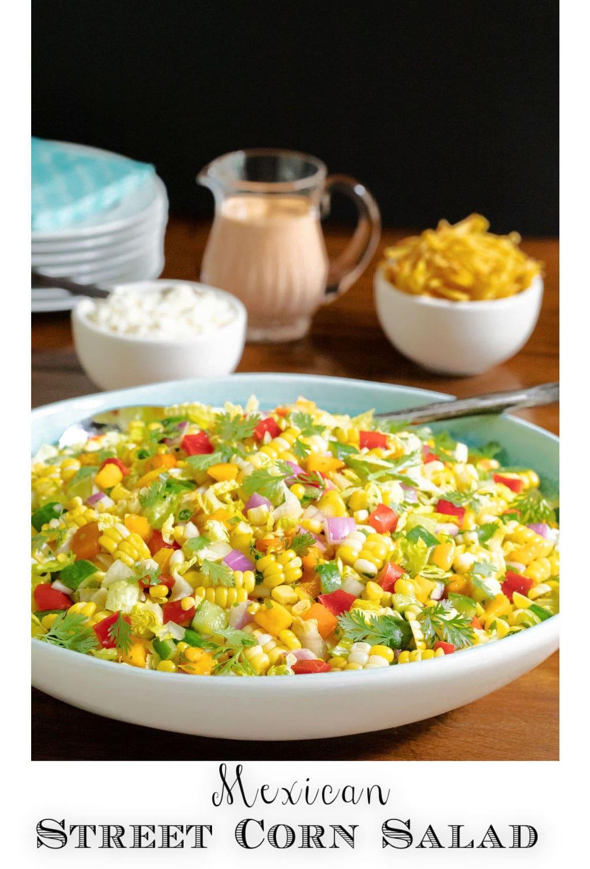 Chopped Mexican Street Corn Salad