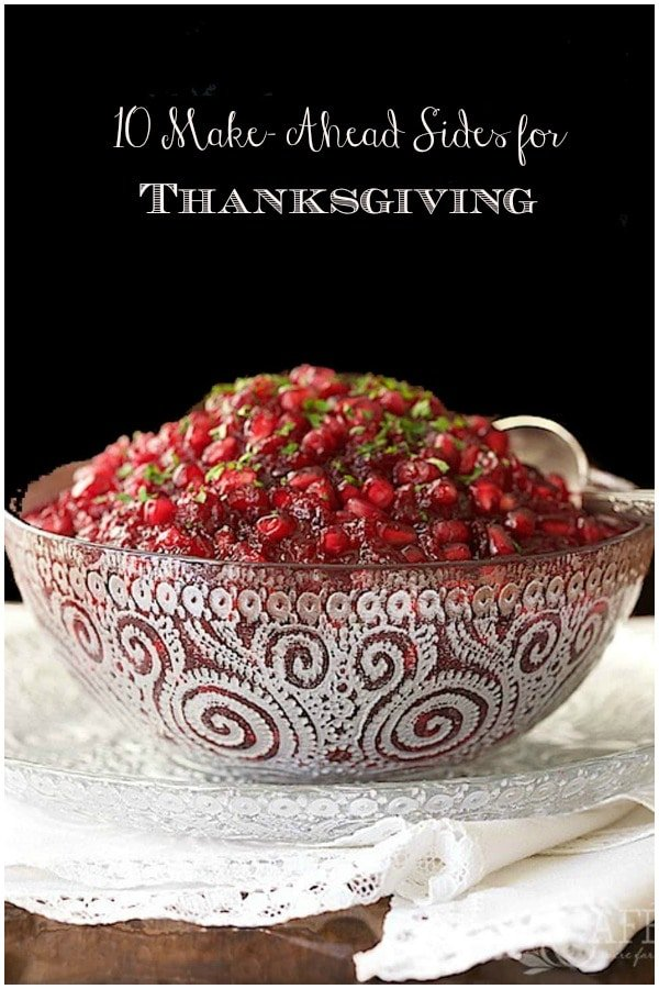 From traditional family favorites to new twists on the classics, here are our favorite side dishes for Thanksgiving! #thanksgiving #thanksgivingsides
